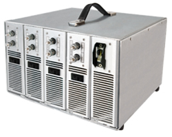 AC-DC Power System with four Combinable 12dc/50A Outputs