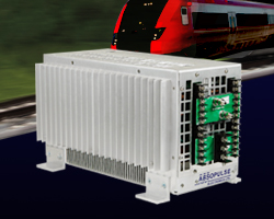 railway dc-dc converter convection cooled 1kW