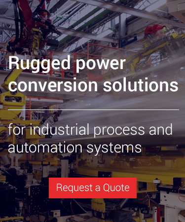 Rugged power conversion solutions - Request a Quote