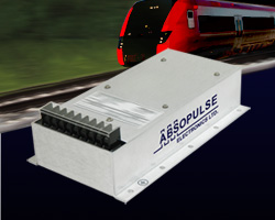 250W, Dual Output Encapsulated RIA12 Railway converters with 3.5xVn surge withstand capacity