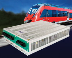 Railway DC-AC inverters deliver 3-phase pure sine wave