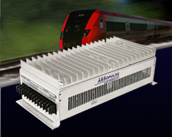 Railway DC-DC converters with pure convection cooling