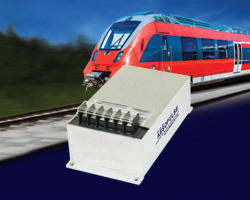 100W, fully encapsulated DC-DC converters with RIA12 protection