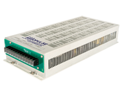500VA convection cooled sine wave inverter converts 125Vdc to 230Vdc or custom output