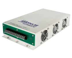 500VA fan cooled sine wave inverter converts a 24Vdc, 36Vdc, 48Vdc, 125Vdc or custom dc-input to 115Vac, 230Vac or custom ac-output
