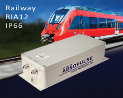 300W IP66-rated railway DC-DC converters offer a waterproof, dust-proof, convection cooled solution