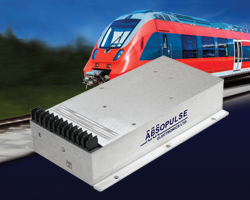 Fully encapsulated railway DC-DC converters  offer protection of traction and rolling stock equipment from transients and surges in DC control systems.