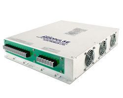 PFC Universal input AC-AC frequency converters offer split-phase AC-output with various configuration options.